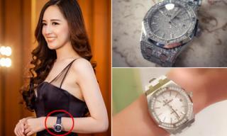 Bộ sưu tập đồng hồ đáng giá 'cả gia tài' của Hoa hậu Mai Phương Thúy