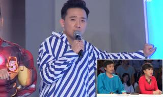 Trấn Thành phát cáu vì bị Hoài Linh - Việt Hương nhắc đến Tiến Đạt quá nhiều