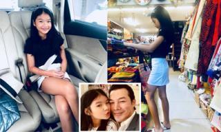 Con gái của Trần Bảo Sơn lớn nhanh, gần 10 tuổi đã phổng phao như thiếu nữ