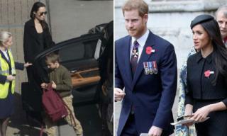 Angelina Jolie đưa 2 con tới Anh quốc tham dự lễ cưới Hoàng gia Anh?