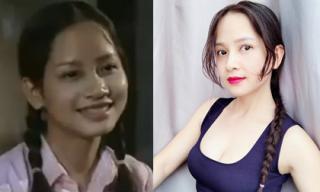 Nhan sắc trẻ trung xinh đẹp của Vũ Diệu Thảo 'Phía trước là bầu trời' sau 17 năm