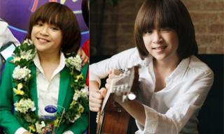 Quán quân Vietnam Idol Kids 2017 Thiên Khôi lớn phổng phao thành mĩ nam
