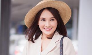 'Nàng dâu quốc dân' Bảo Thanh trẻ trung lên đường sang Hàn