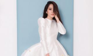 Nam Em đẹp tinh khôi trong loạt váy áo bồng bềnh