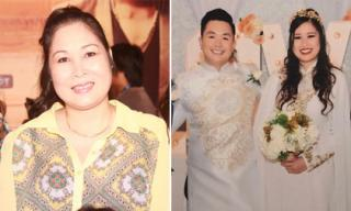 Tiệc cưới con gái, Hồng Vân buộc phải vắng mặt vì lý do 'bất khả kháng'