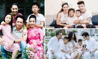 Sao Việt có bí quyết gì để con riêng con chung sống cùng hạnh phúc mà không cảm thấy thiệt thòi?