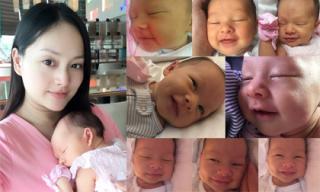 Loạt ảnh cận mặt đáng yêu của con gái diễn viên Lan Phương
