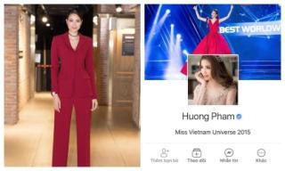 Tuyên bố đóng cửa Facebook không bao lâu, Phạm Hương bất ngờ mở lại