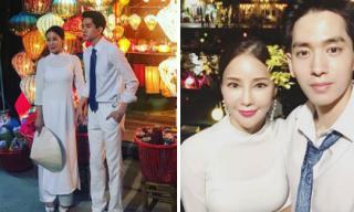 Nữ ca sĩ Hàn cùng chồng tương lai kém 17 tuổi tới Việt Nam chụp ảnh cưới