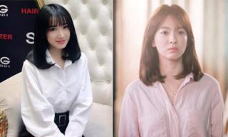 Vừa rộ tin đảm nhận vai chính của Hậu duệ Mặt trời, Nhã Phương đã kịp đổi tóc giống hệt Song Hye Kyo