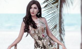 Người đẹp Phương Đài khoe dáng quyến rũ trước biển với bikini