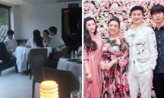 Gia đình Phạm Băng Băng sum họp mừng sinh nhật em trai Phạm Thừa Thừa