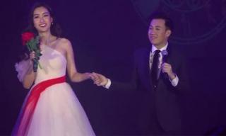 Hoa hậu Đỗ Mỹ Linh gây ngỡ ngàng khi song ca cực ngọt ngào cùng Dương Triệu Vũ