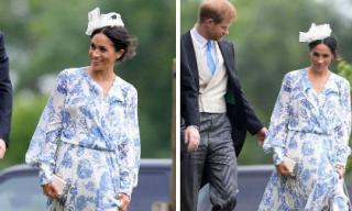 Công nương Meghan Markle diện váy hơn trăm triệu tham dự đám cưới của chị họ chồng