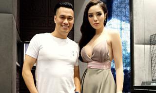 Hoa hậu Kỳ Duyên hở bạo, liên tục gọi nhầm tên diễn viên Việt Anh tại sự kiện ở Singapore