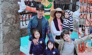 Vợ chồng Lý Hải cùng 4 con đi khám phá Mexico