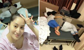 Từng mải mê với công việc nhưng khi nhìn hình ảnh này, Khánh Thi tự nhủ với lòng mình: 'Gia đình là trên hết'