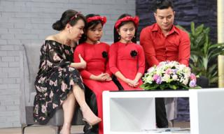 Việt Hương bật khóc trước câu chuyện của ông bố đơn thân bán máu nuôi 2 con gái nhỏ