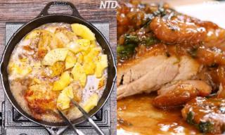 Gà nấu dứa - sự kết hợp hoàn hảo cho một món ăn ngon