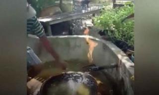 Thấy nước dễ cháy, người dân tá hỏa phát hiện kho báu tỷ đô dưới lòng đất