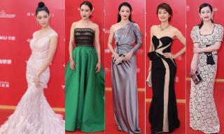 'Thánh nữ' xứ Hàn đọ sắc với dàn mỹ nhân Hoa ngữ trên thảm đỏ bế mạc LHP Quốc tế Thượng Hải