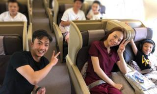 Cường Đô la đưa bạn gái và Subeo đi du lịch sau tiệc sinh nhật của con