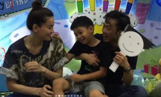Cường Đô la - Hồ Ngọc Hà tái hợp tổ chức sinh nhật 8 tuổi cho Subeo?