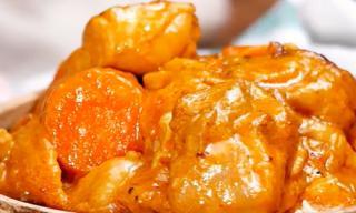 Công thức nấu món thịt gà om nước cốt dừa thơm ngon, béo ngậy