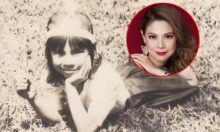 Thêm loạt ảnh ngày bé lần đầu được công bố của Thanh Thảo