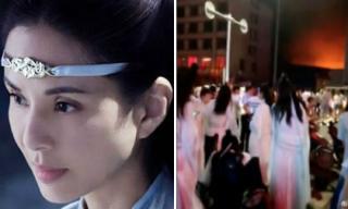 Tác phẩm của Lý Nhược Đồng gặp vận xui khi phim trường xảy ra hỏa hoạn, 2 người thiệt mạng