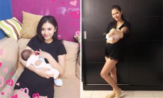 Chúng Huyền Thanh tiết lộ chế độ dinh dưỡng giúp mẹ lợi sữa, giảm cân nhanh sau sinh con
