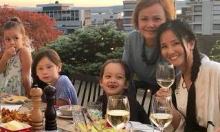 Hậu ly hôn, Hồng Nhung vui vẻ đưa hai con đi du lịch Thụy Sĩ
