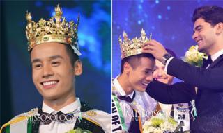 Đại diện Việt Nam - Cao Xuân Tài đăng quang Man of the World 2018