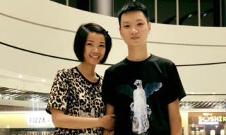 Chân dung cậu con trai cao lớn của siêu mẫu Hạ Vy, mới 17 tuổi mà đã 'vượt mặt' cả mẹ