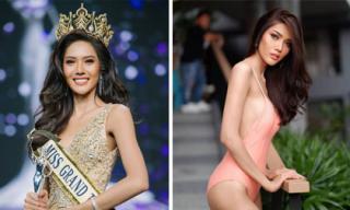 Nhan sắc xinh đẹp sắc sảo của Tân Hoa hậu Hòa bình Thái Lan 2018