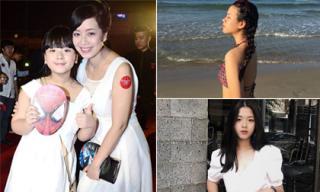 Con gái thứ hai của Chiều Xuân lớn phổng phao, ra dáng thiếu nữ