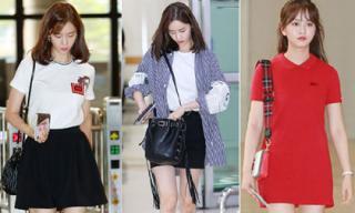 Yoona (SNSD) gây sốt khi lên đồ ra sân bay 'đẹp quên lối'