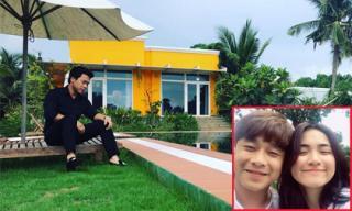 Khám phá không gian nhà vườn rộng 'thẳng cánh cò bay' của gia đình bạn trai Hòa Minzy