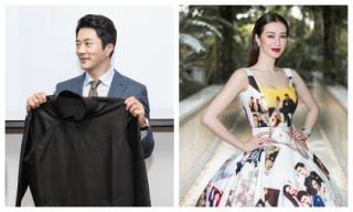 Kwon Sang Woo lịch lãm ở tuổi 42, Khánh My 'cân' cả dàn sao với đầm in hình nam tài tử