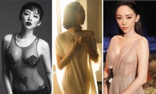 Tuyển tập váy áo xuyên thấu 'bạo đừng hỏi' của Tóc Tiên