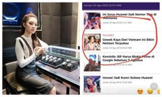 Cuộc sống của 'Hoa hậu con nhà giàu' Jolie Nguyễn xuất hiện trên báo Indonesia