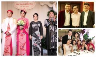 Dàn sao Việt nô nức đến dự tiệc cưới con gái  NSND Hồng Vân