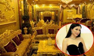 Cận cảnh nhà dát vàng 300 tỷ từng gây 'chao đảo' của Hoa hậu, ảo thuật gia Ngô Mỹ Uyên