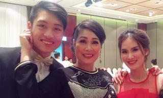 Chị gái vừa lên xe hoa, con trai Hồng Vân cũng công khai hẹn hò với bạn gái ca sĩ