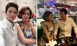 Sau thời gian dài dính tin đồn ly hôn chồng, Thúy Vinh bất ngờ công khai bạn gái mới?