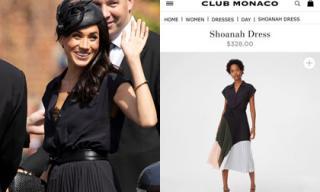 Vướng lùm xùm gia đình, Meghan Markle vẫn giúp chiếc váy lộ nội y vô duyên được bán hết sạch chỉ sau vài giờ