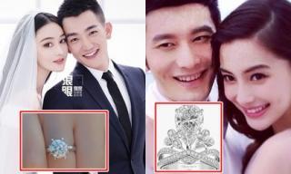 Ông xã như nam thần nhưng nhẫn đính hôn của Trương Hinh Dư lại bị chê rẻ tiền, thua xa các sao nữ khác