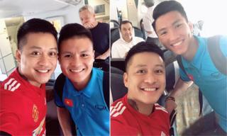 Hé lộ lý do Tuấn Hưng 'phải lấy hết can đảm' để chụp ảnh cùng các cầu thủ U23 Việt Nam