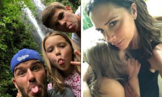 Hú hồn vì thảm họa động đất ở Indonesia, gia đình David Beckham giờ mới dám đăng hình vui vẻ ở Bali