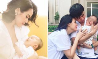Chán che, diễn viên Tú Vi thoải mái công khai khoe mặt con gái đáng yêu
